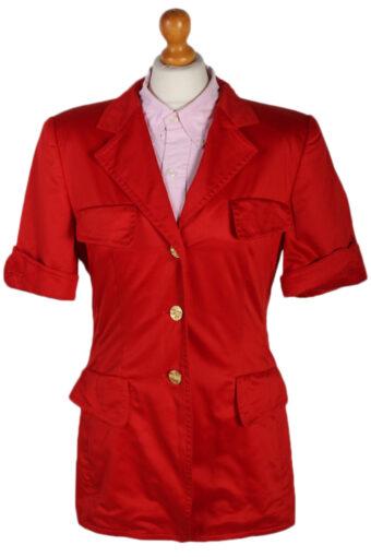 Escada Margaretha Ley Jacket Red M