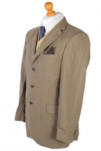 Vintage Tommy Hilfiger Chet Baker Stripe Blazer Jacket Chest 41 Beige HT2179-78130