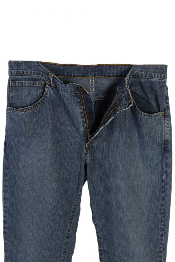 Vintage Levi's Designer Mid Jeans Waist:32 Navy J3146-79695