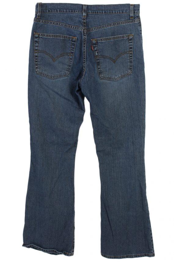 Vintage Levi's Designer Mid Jeans Waist:32 Navy J3146-79697