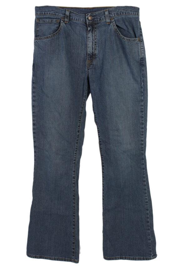 Vintage Levi's Designer Mid Jeans Waist:32 Navy J3146-0