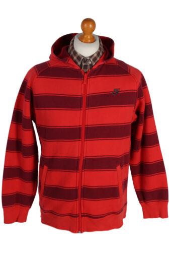 Nike Hoodie Sweatshirt 80s Red XL
