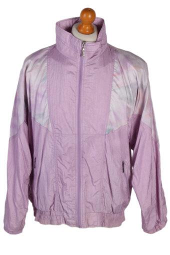 90s Retro Shell Track Top Lilac XL