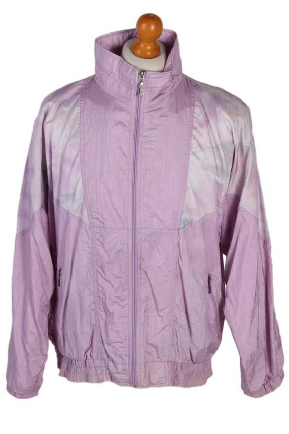 Vintage Rodeo Shell Tracksuit Top L Lilac -SW1851-0