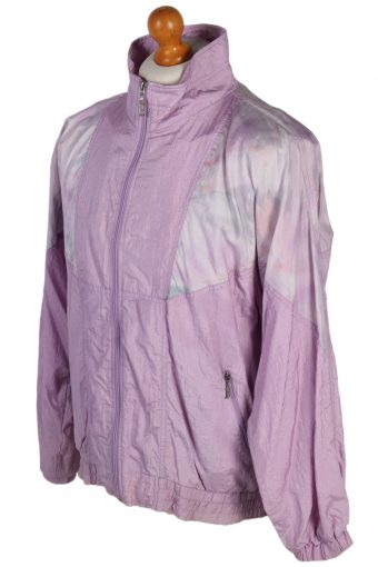 Vintage Rodeo Shell Tracksuit Top L Lilac -SW1851-80332