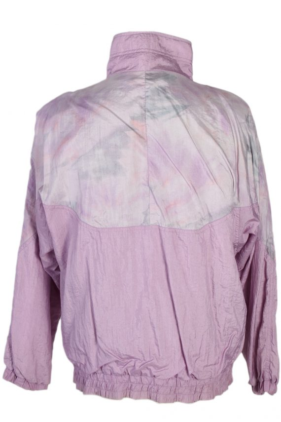 Vintage Rodeo Shell Tracksuit Top L Lilac -SW1851-80333