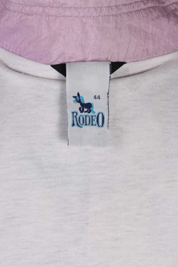 Vintage Rodeo Shell Tracksuit Top L Lilac -SW1851-80335
