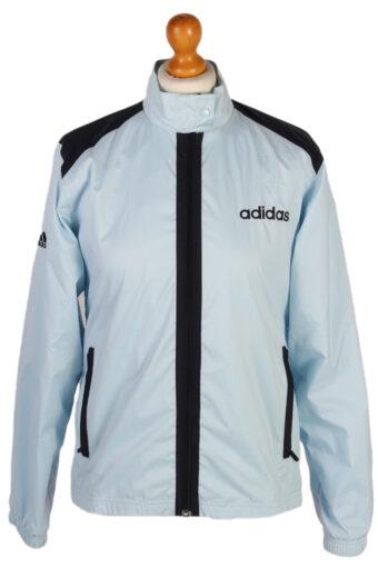 Adidas Ladies Shell Track Top Blue M