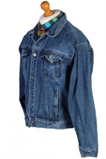 Vintage Equinox Trucker Denim Jacket L Navy -DJ1421-81074