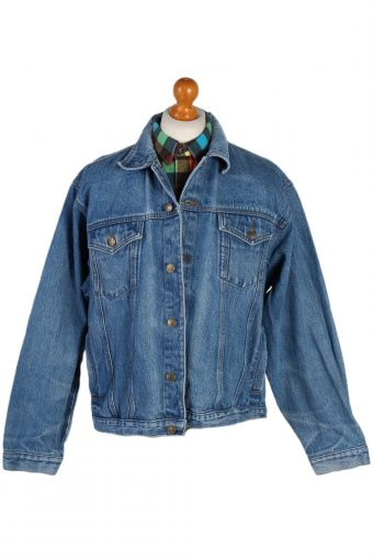 90s Retro Denim Jacket DENIM co Blue XL