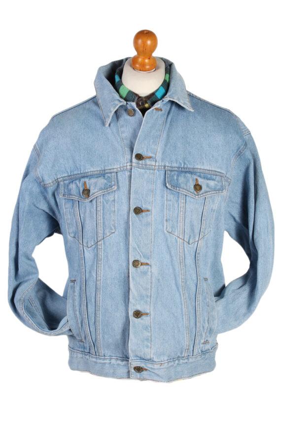Vintage Face to Face Trucker Denim Jacket L Blue -DJ1429-0