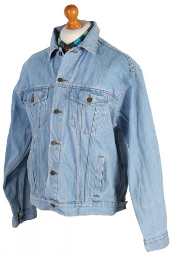Vintage Face to Face Trucker Denim Jacket L Blue -DJ1429-81113