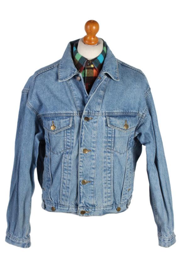 Vintage Haco Trucker Denim Jacket L Blue -DJ1433-0