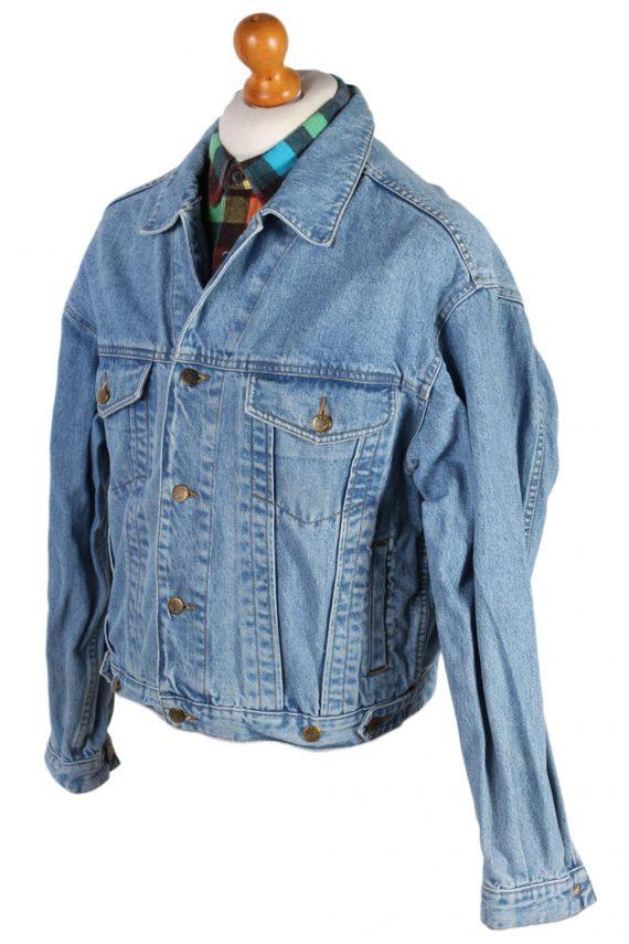 Vintage Haco Trucker Denim Jacket L Blue -DJ1433-81133