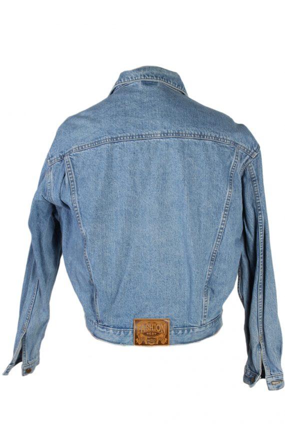 Vintage Haco Trucker Denim Jacket L Blue -DJ1433-81134