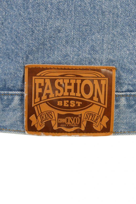 Vintage Haco Trucker Denim Jacket L Blue -DJ1433-81135