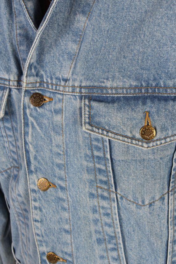 Vintage Haco Trucker Denim Jacket L Blue -DJ1433-81136