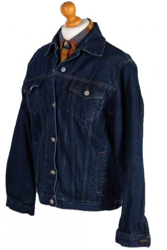 Vintage Vicky Trucker Denim Jacket XL Navy -DJ1439-81163