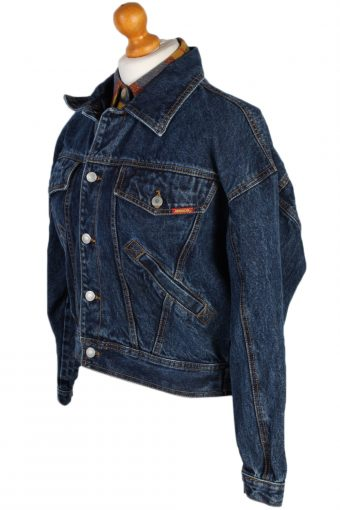Vintage Jordache Trucker Denim Jacket M Navy -DJ1441-81173