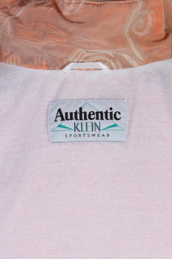 Vintage Authentic Klein Printed Shell Tracksuit Top M Baby Pink -SW1883-81052