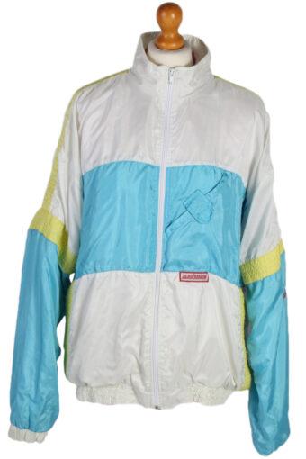 90s Retro Shell Track Top Rex Professional L