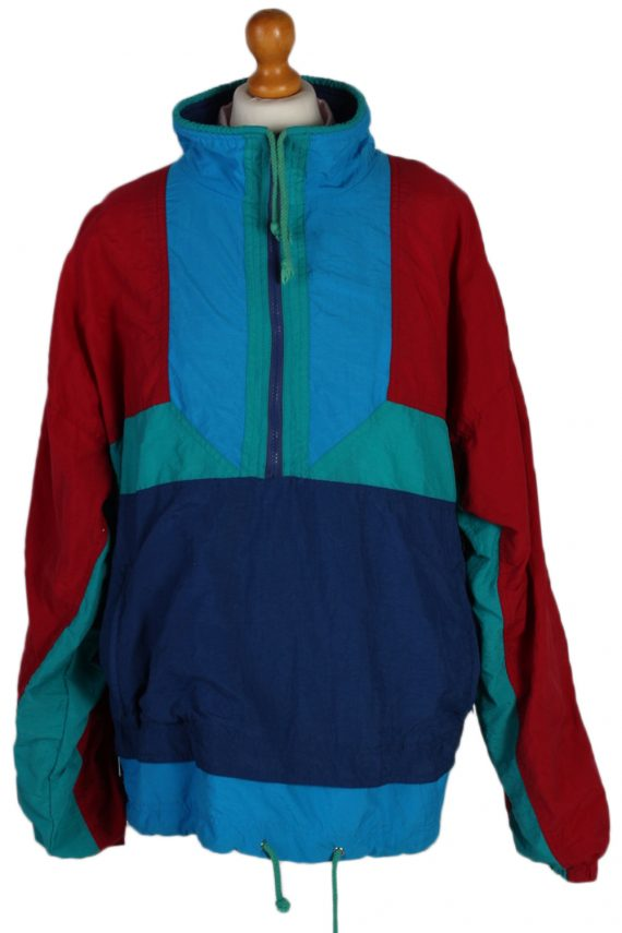Vintage Marcel Clair Shell Tracksuit Top M Multi -SW1887-0