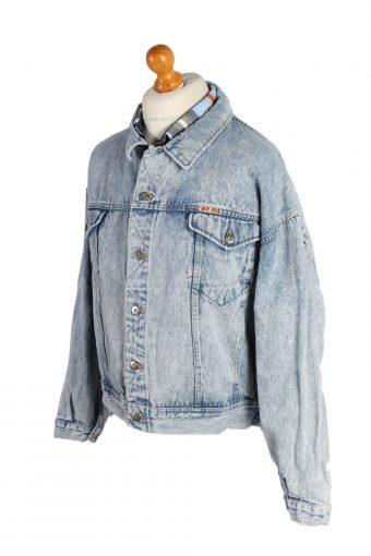 Vintage Mustang Remake Moods of Darth Vader Printed Denim Jacket XL Blue -DJ1460-82709