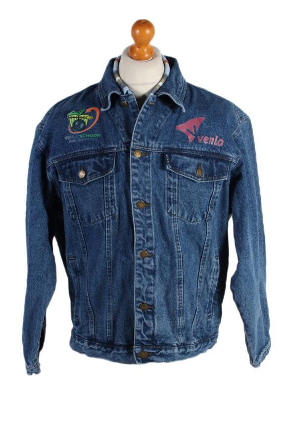Vintage Efro Venlo Schoon Heel Gewooni Denim Jacket XL Blue -DJ1472-0