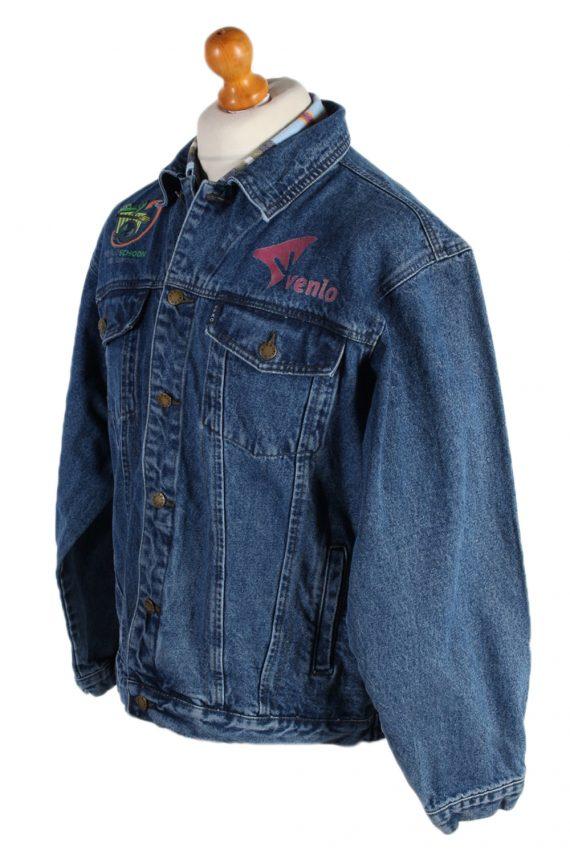 Vintage Efro Venlo Schoon Heel Gewooni Denim Jacket XL Blue -DJ1472-82813