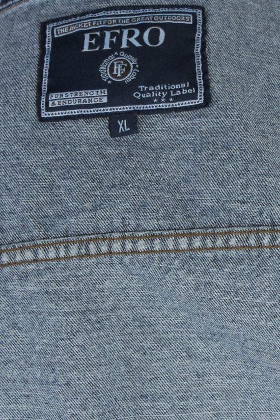 Vintage Efro Venlo Schoon Heel Gewooni Denim Jacket XL Blue -DJ1472-82815