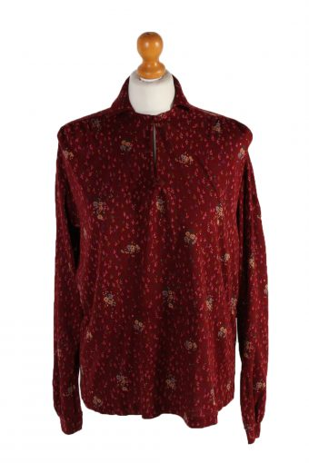 Vintage Unbranded Long Sleeve Flower Shirt S Multi LB083-82505