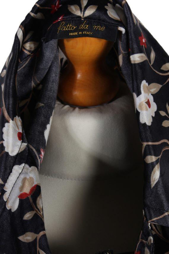 Vintage Fatto De Me Long Sleeve Flower Shirt M Multi LB097-82559
