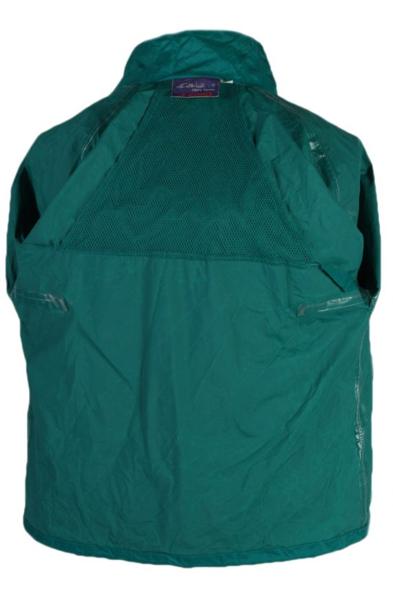 Vintage Jeantex Streetball Sports Raincoat Green RC312-81683