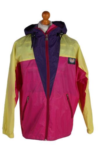 K Way Raincoat Waterproof Outdoor Jacket Windbreaker S