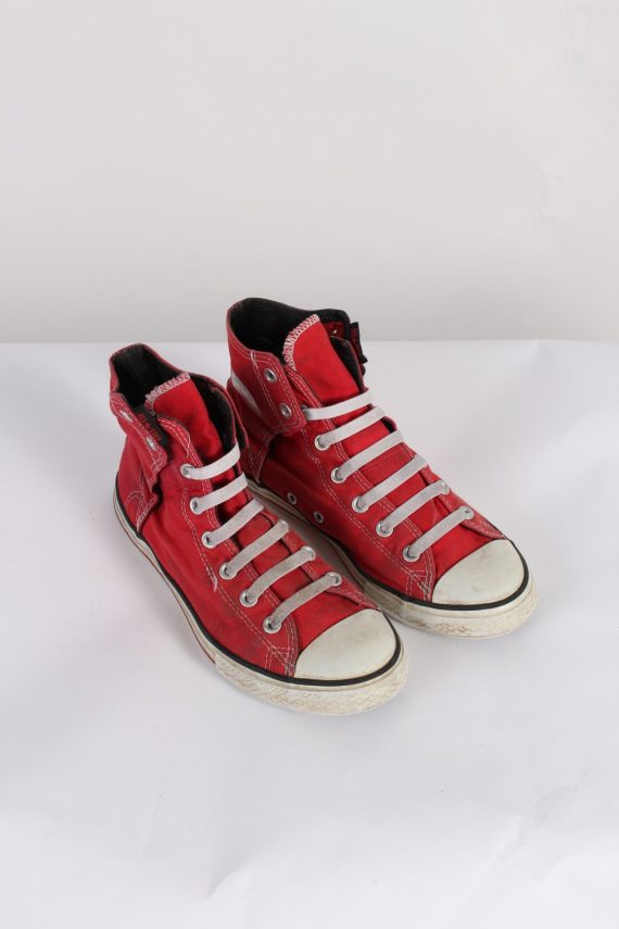 Vintage Converse All Star High Tops UK M/5.5 F/7.5 Red S398-0