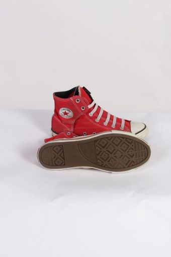 Vintage Converse All Star High Tops UK M/5.5 F/7.5 Red S398-84171