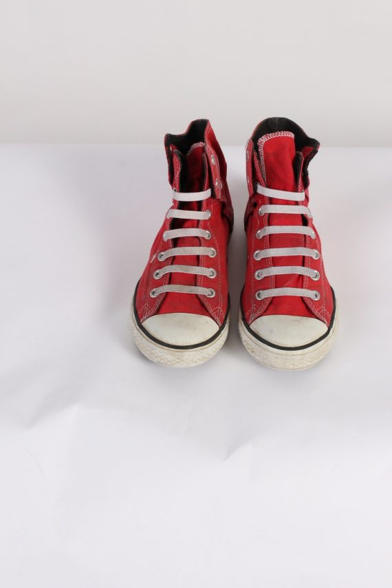 Vintage Converse All Star High Tops UK M/5.5 F/7.5 Red S398-84172
