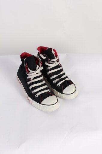 Vintage Converse All Star High Tops UK M/5 F/7 Black
