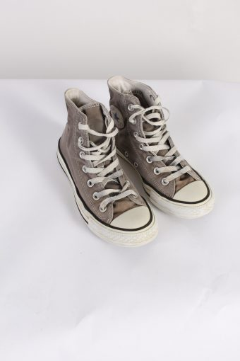Vintage Converse All Star High Tops UK M/3.5 F/5.5 Beige