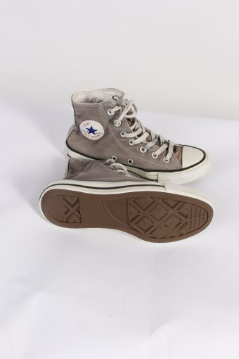 Vintage Converse All Star High Tops UK M/3.5 F/5.5 Beige S405-84199