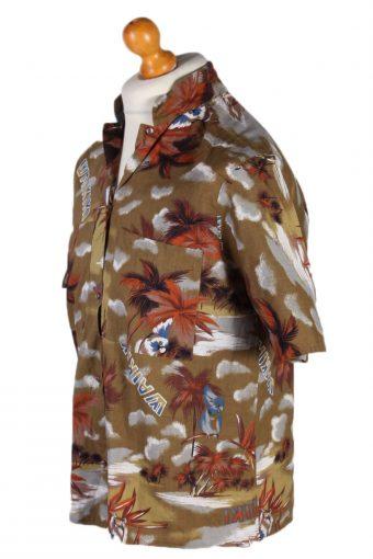 Vintage Angelo Litviko Palm Hawaiian Shirt Chest 64 Multi SH3260-81997