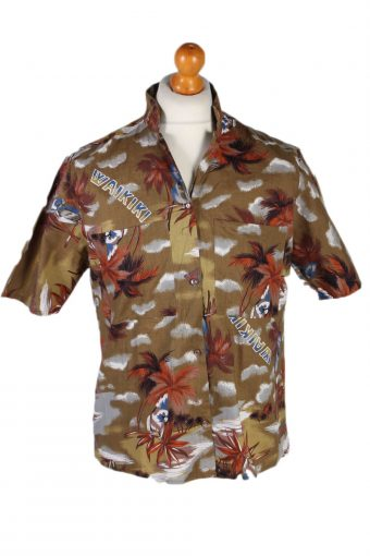 Hawaiian Shirt 90s Retro Summer Aloha Multi L