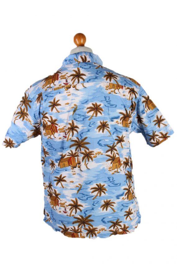 Vintage Mark Edwarts Palm Hawaiian Shirt Chest 62 Multi SH3264-82014