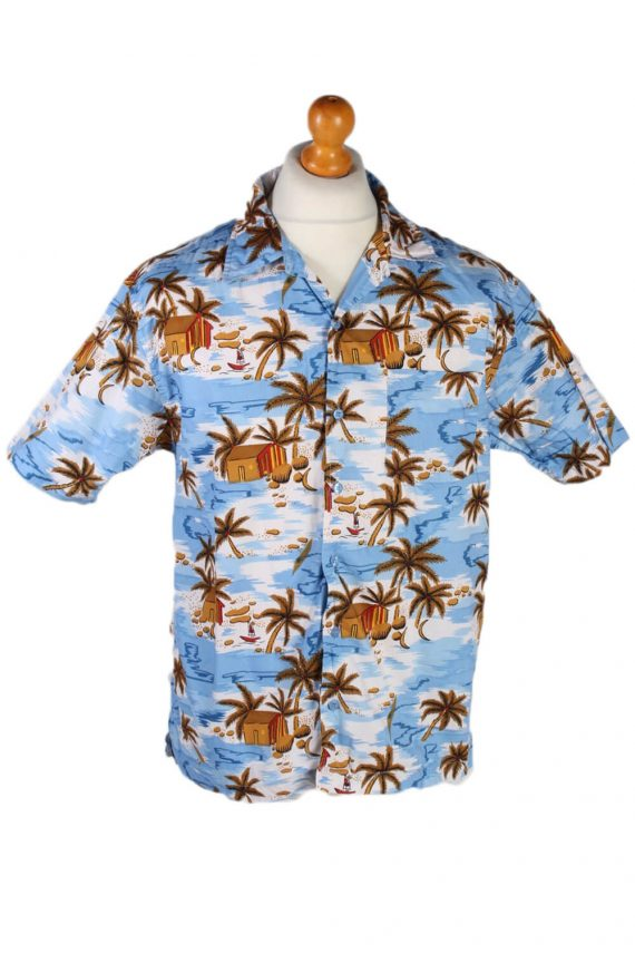 Vintage Mark Edwarts Palm Hawaiian Shirt Chest 62 Multi SH3264-0