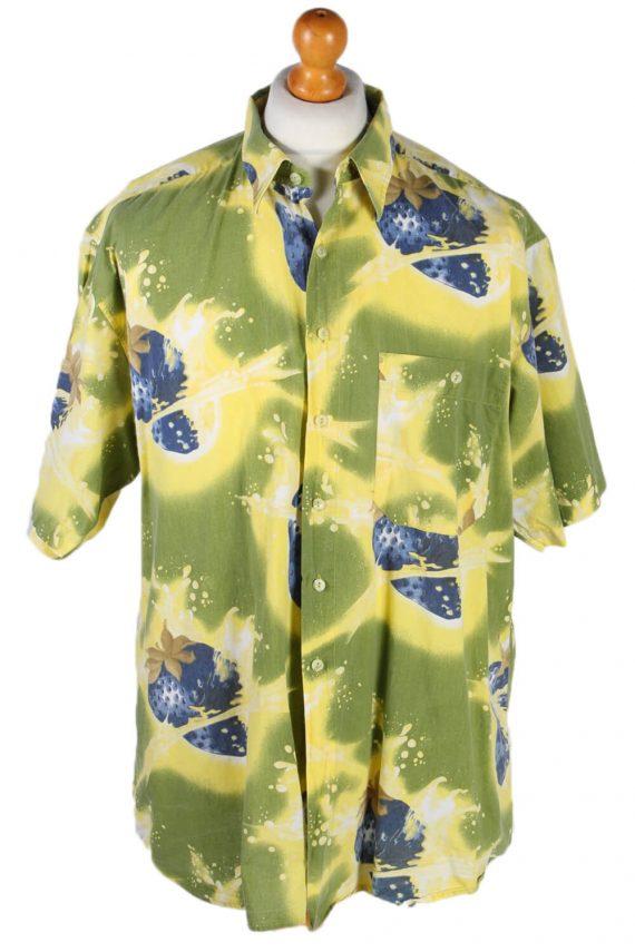 Vintage Jack Tissot Abstract Hawaiian Shirt Chest 65 Multi SH3273-82049