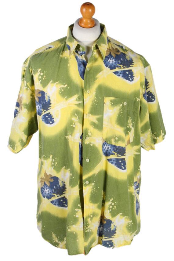 Vintage Jack Tissot Abstract Hawaiian Shirt Chest 65 Multi SH3273-0