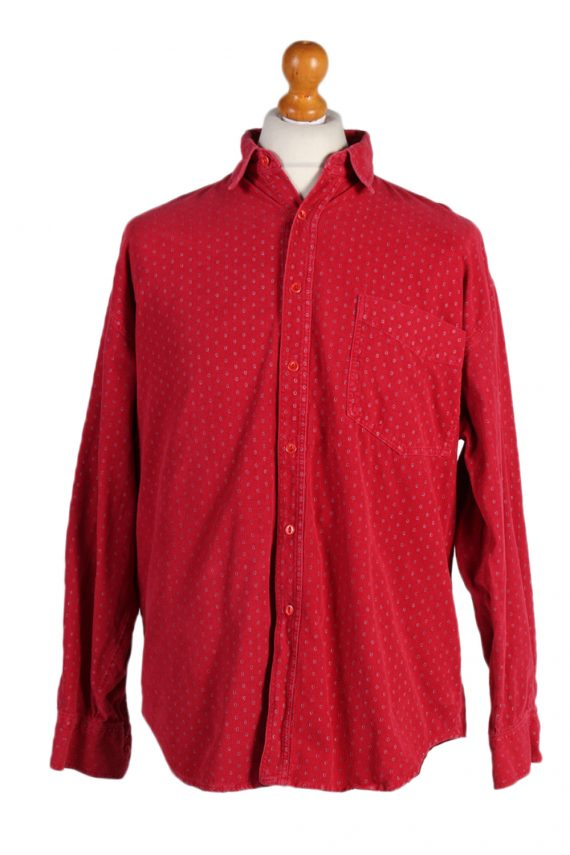 Vintage Martomod Exclusives Shirt L Red SH3295-0