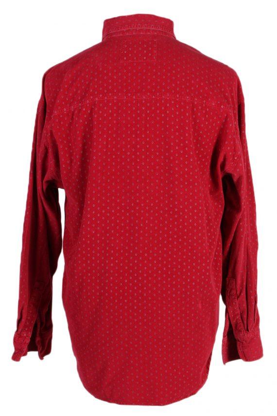 Vintage Martomod Exclusives Shirt L Red SH3295-82273