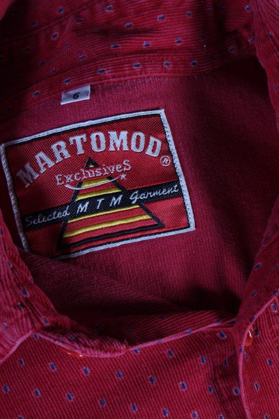 Vintage Martomod Exclusives Shirt L Red SH3295-82274