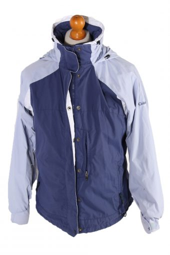 Columbia Long Sleeve Track Top Blue M